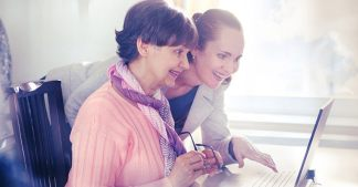 asistencia social en residencia geriátrica