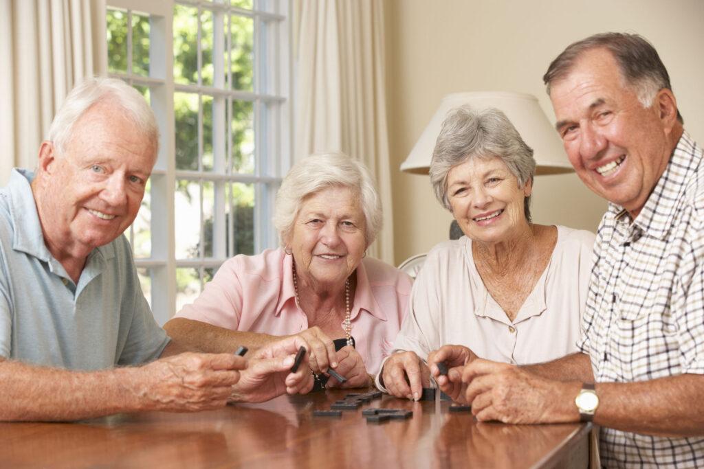 Personas mayores en residencia